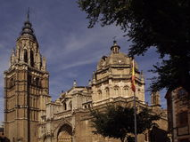 Cathedral of Toledo Stock Images