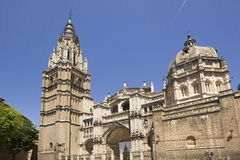 Cathedral of Toledo, Spain Stock Photos
