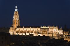 Cathedral of Toledo, Spain. Stock Photo