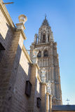Cathedral of Toledo in Spain Royalty Free Stock Photos