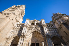 Cathedral of Toledo in Spain Royalty Free Stock Image