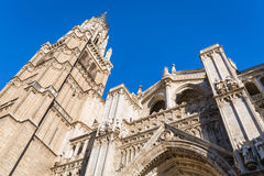 Cathedral of Toledo in Spain Royalty Free Stock Images