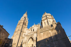 Cathedral of Toledo in Spain Stock Photo