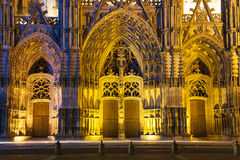 Cathedral of Tours Royalty Free Stock Photos