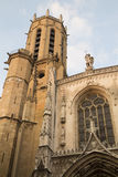 Cathedral Tower, Aix-en-Provence; France Royalty Free Stock Image