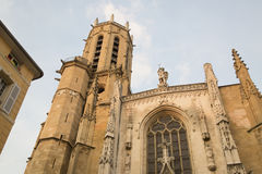 Cathedral Tower, Aix-en-Provence; France Royalty Free Stock Photography