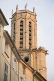 Cathedral Tower, Aix-en-Provence; France Royalty Free Stock Photo