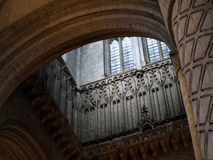 Cathedral tower interior Royalty Free Stock Photo