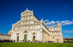 The Cathedral and the Tower of Pisa Royalty Free Stock Image