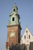 Cathedral Tower, Wawel Hill, Krakow Royalty Free Stock Photography