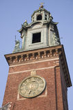 Cathedral Tower, Wawel Hill, Krakow Royalty Free Stock Photos