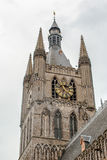 Cathedral tower in Ypres flander Belgium Royalty Free Stock Photo
