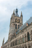 Cathedral tower in Ypres flander Belgium Stock Photography