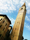 Cathedral towerbell of Pordenone Stock Photo