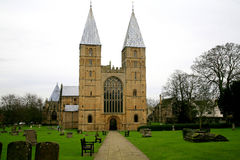 Cathedral towers. Royalty Free Stock Image