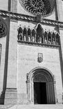 Cathedral of the town of GEMONA in Italy Royalty Free Stock Photos