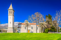 Cathedral in town Solin, Croatia. Stock Image