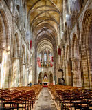 Cathedral: Tréguier, Brittany Royalty Free Stock Photo