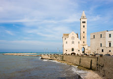 Cathedral in Trani, Apulia, Italy Stock Photography