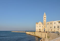 Cathedral of Trani - Apulia (South Italy) Royalty Free Stock Photography