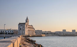 Cathedral of Trani - Apulia (South Italy) Royalty Free Stock Image