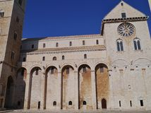 The cathedral of Trani in Italy Stock Photo