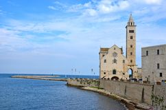Cathedral of Trani Stock Image