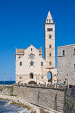Cathedral of Trani. Puglia. Italy. Stock Photos