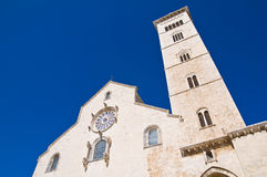 Cathedral of Trani. Puglia. Italy. Royalty Free Stock Photo