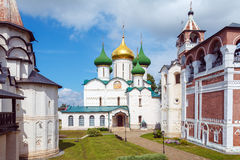 Cathedral of Transfiguration of the Saviour, Monastery of Saint Stock Image