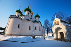 Cathedral of the Transfiguration  at Suzdal Royalty Free Stock Images