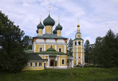 Cathedral of Transfiguration in the Uglich Kremlin Royalty Free Stock Images