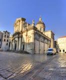 Cathedral-Treasury. In Dubrovnik, Croatia Stock Image