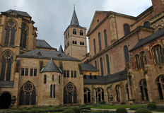 Cathedral of Trier. The oldest church in Germany. In this church the tunic of Christ is kept Stock Images