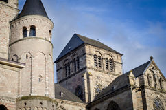 Cathedral of Trier. Also known as Dom St. Peter Stock Images
