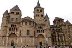 Cathedral of Trier Royalty Free Stock Images