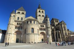 Cathedral of Trier. The High Cathedral of Saint Peter in Trier, Germany Stock Photography