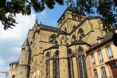 The cathedral of Trier. Royalty Free Stock Photos