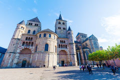 Cathedral of Trier  in Trier, Germany Royalty Free Stock Photos