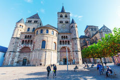 Cathedral of Trier  in Trier, Germany Stock Photos