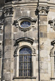 Cathedral Trinitatis Close up from Dresden in Germany Stock Image