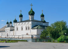 Cathedral of the Trinity in Astrakhan Royalty Free Stock Photo
