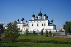 Cathedral of the Trinity in Astrakhan Stock Image