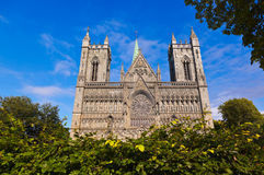 Cathedral in Trondheim Norway Royalty Free Stock Photos