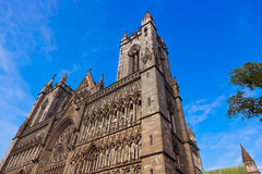 Cathedral in Trondheim Norway Royalty Free Stock Photography