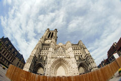 Cathedral Troyes Royalty Free Stock Photography