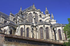 Cathedral in Troyes Royalty Free Stock Photo