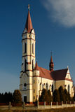 Cathedral in Tscenec Royalty Free Stock Photo