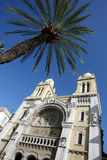 Cathedral in Tunis Royalty Free Stock Images