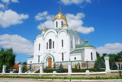 Cathedral, Tyraspol, Transnistria. An orthodox cathedral in the self-declared Republic of Transnistria Stock Images